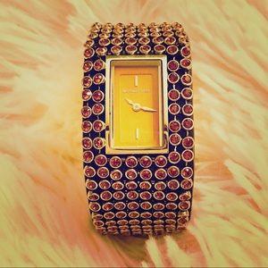 Michael Kors Swarovski Stainless Steel Watch